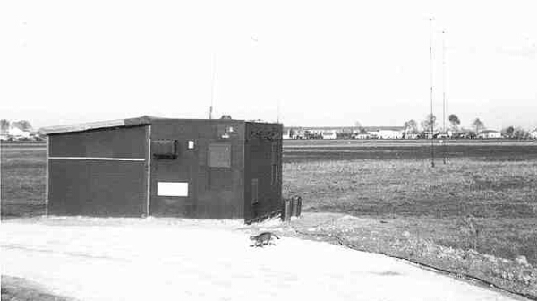 AN/TRD-4A Direction Finder, Ravenna Italy circa 1961/2